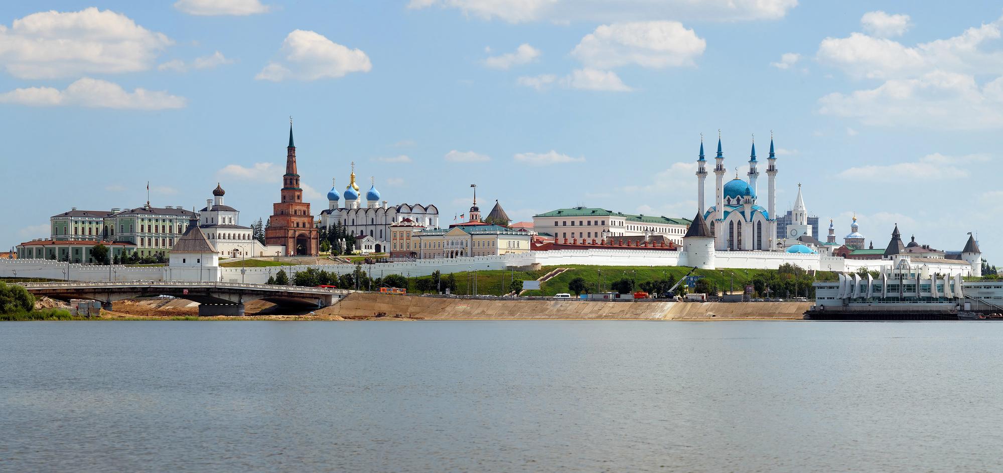 Панорама Казанского Кремля