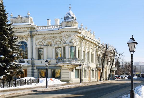 Национальная библиотека в Казани