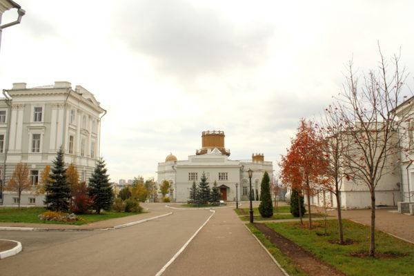 Двор Казанского Университета