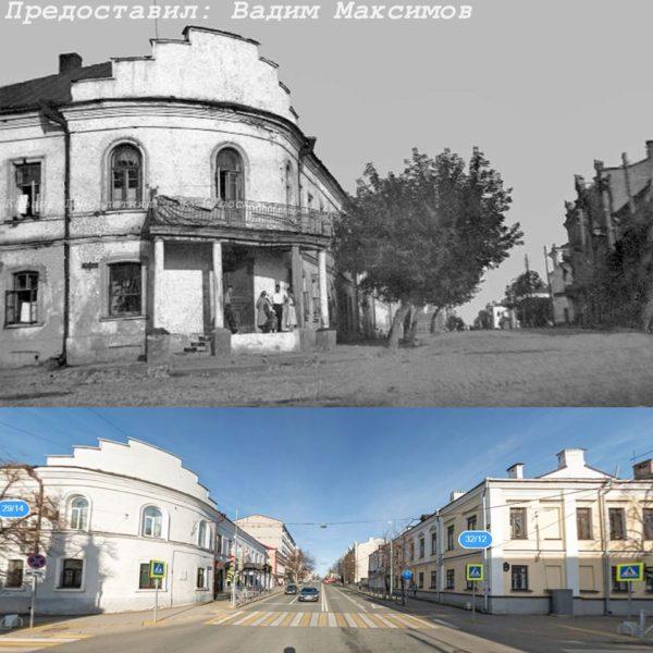Дом на перекрестке Карла Маркса/Добачевского